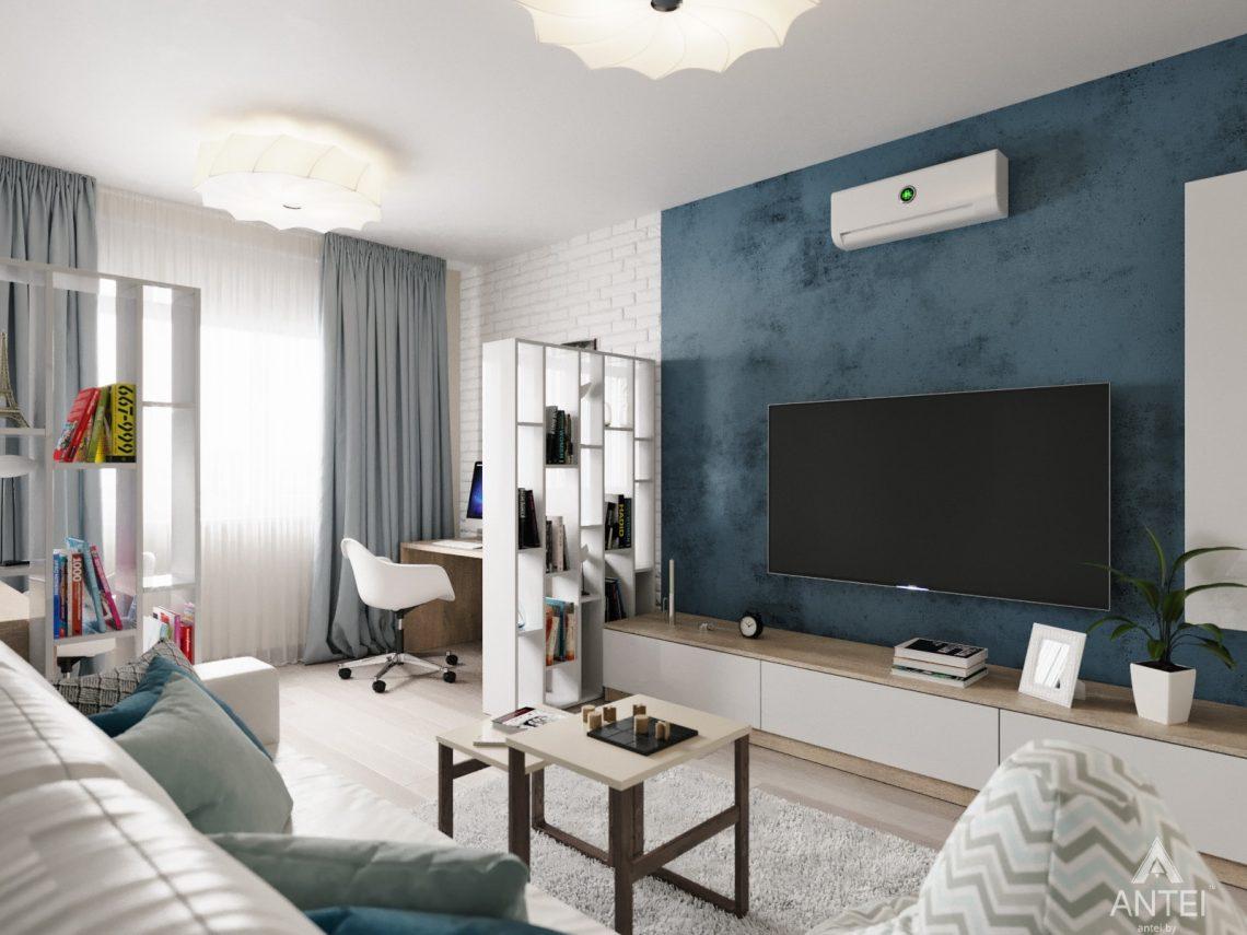 Дизайн интерьера квартиры в Гомеле, Иногородняя 8-я - гостиная фото №2