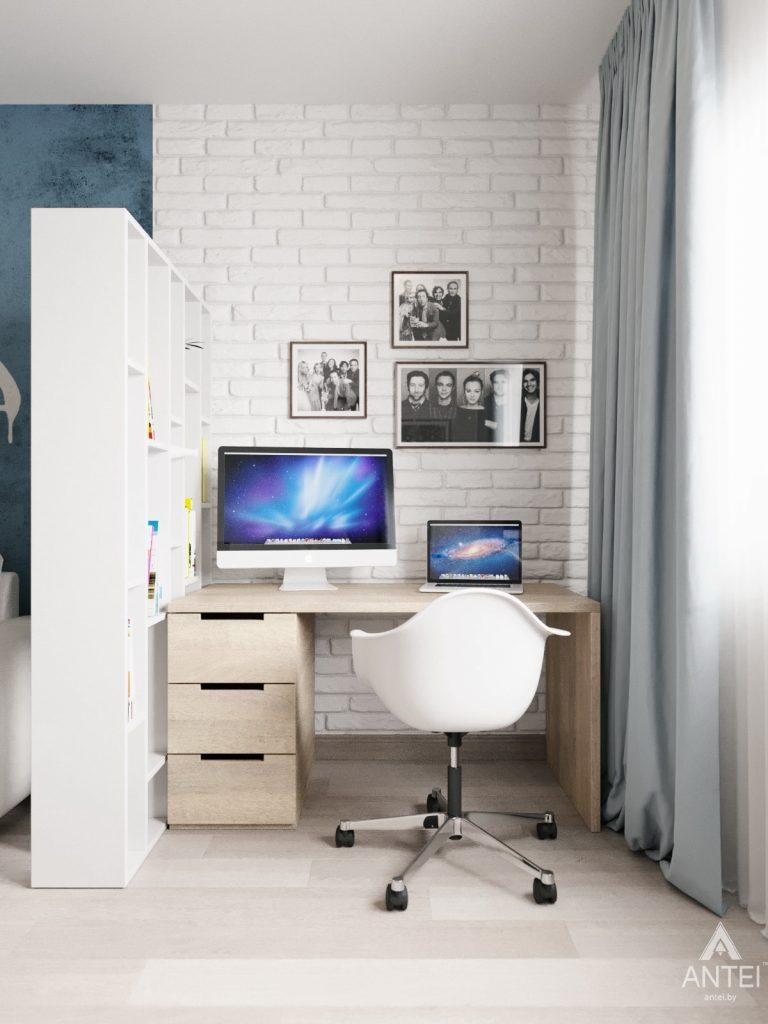 Дизайн интерьера квартиры в Гомеле, Иногородняя 8-я - гостиная фото №5