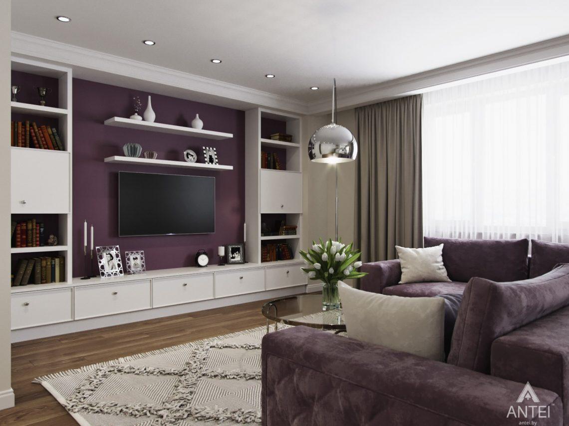 Дизайн интерьера квартиры в Гомеле - гостиная фото №3