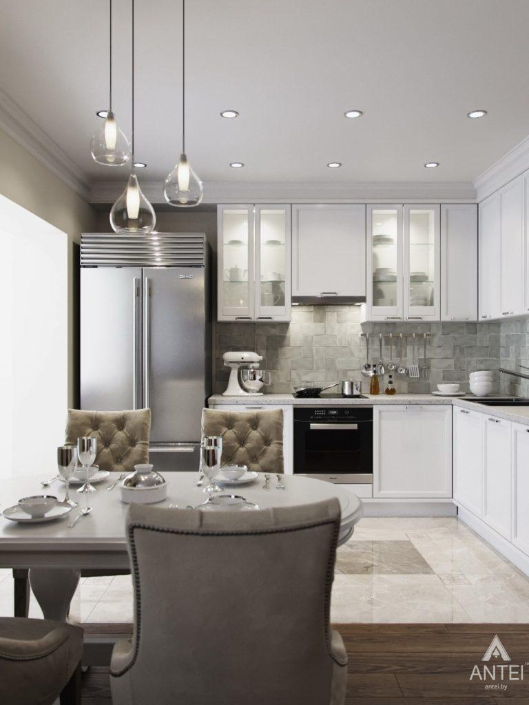 Дизайн интерьера квартиры в Гомеле - кухня фото №2