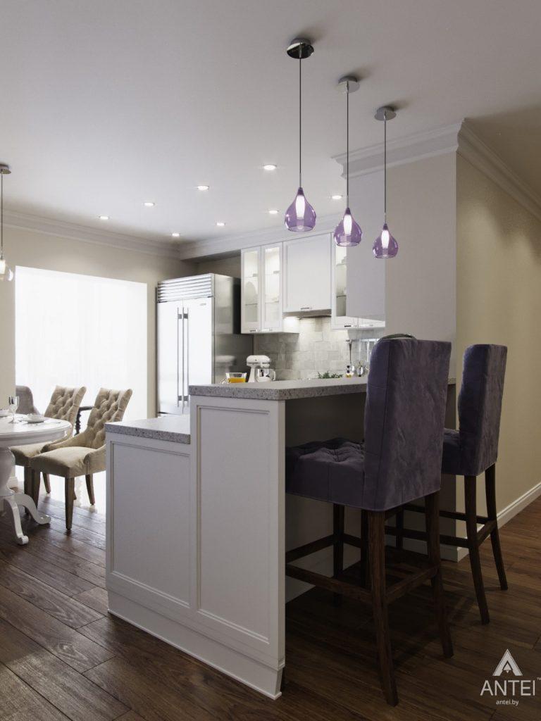 Дизайн интерьера квартиры в Гомеле - кухня фото №3