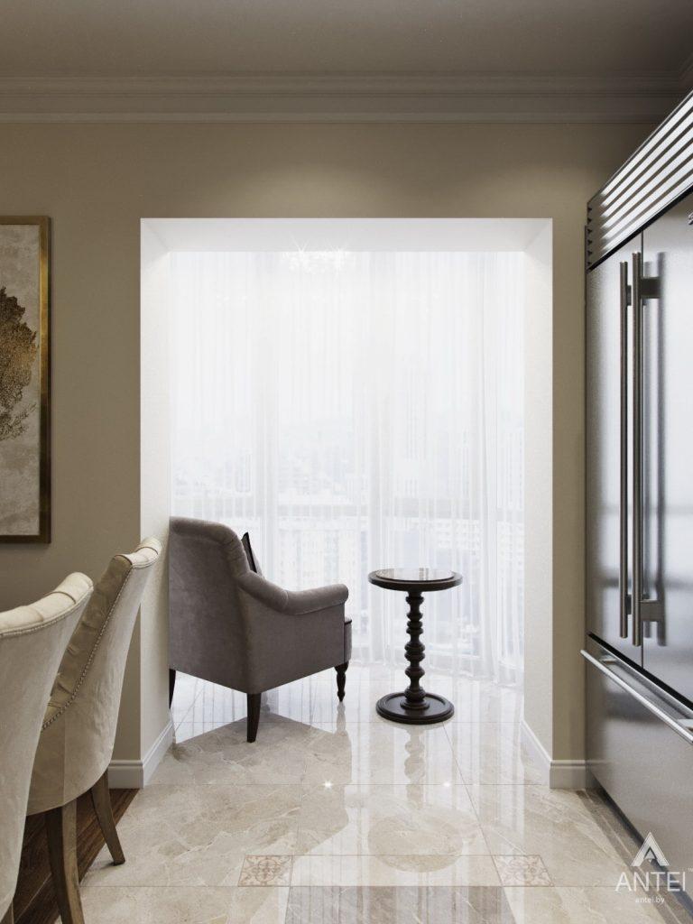 Дизайн интерьера квартиры в Гомеле - гостиная фото №4