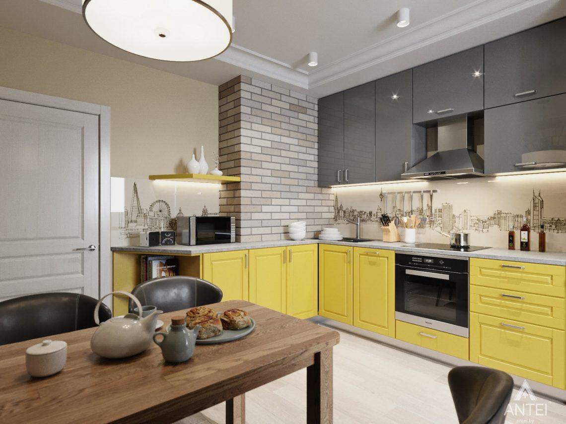 Дизайн интерьера квартиры в Гомеле, Иногородняя 8-я - кухня фото №1