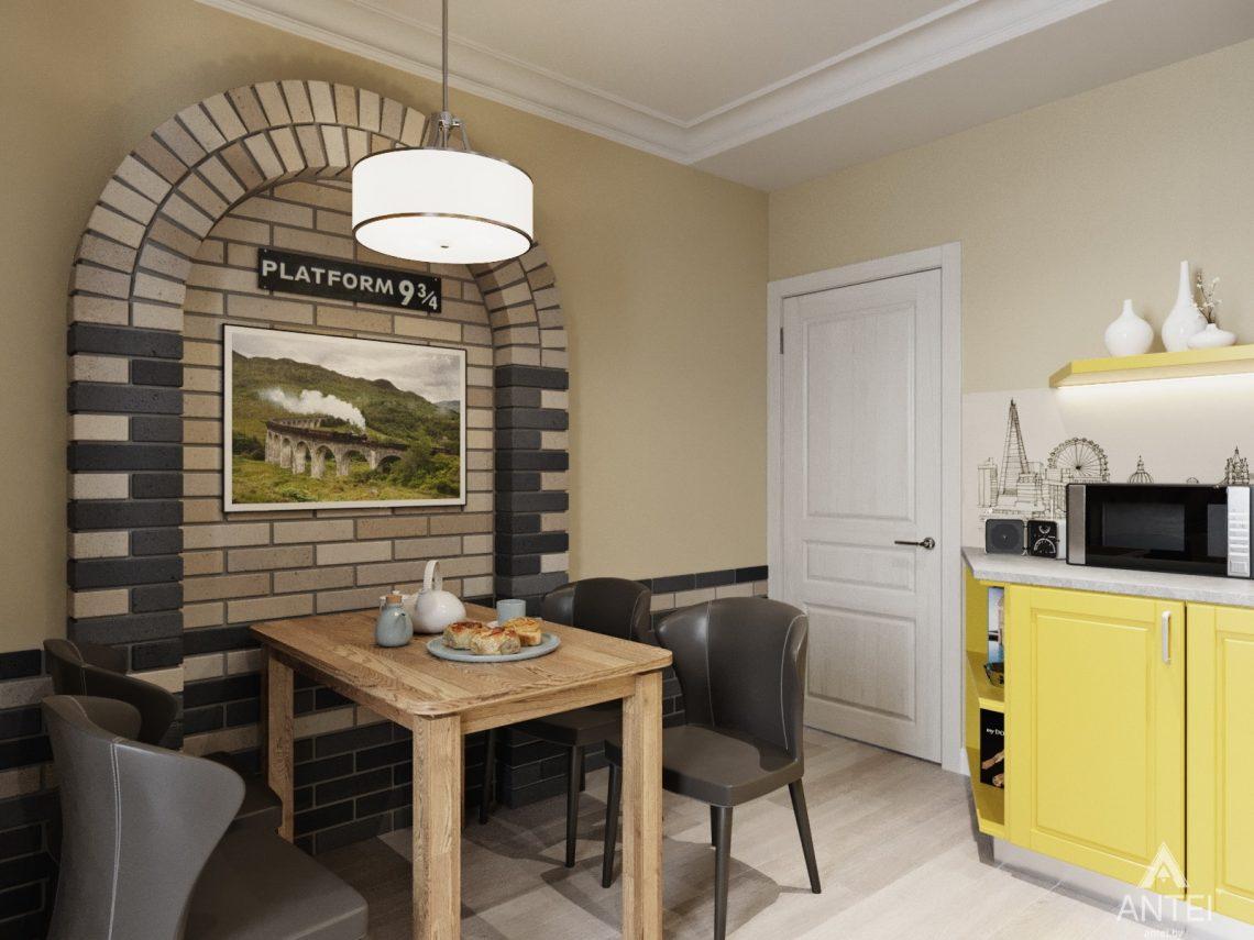 Дизайн интерьера квартиры в Гомеле, Иногородняя 8-я - кухня фото №3