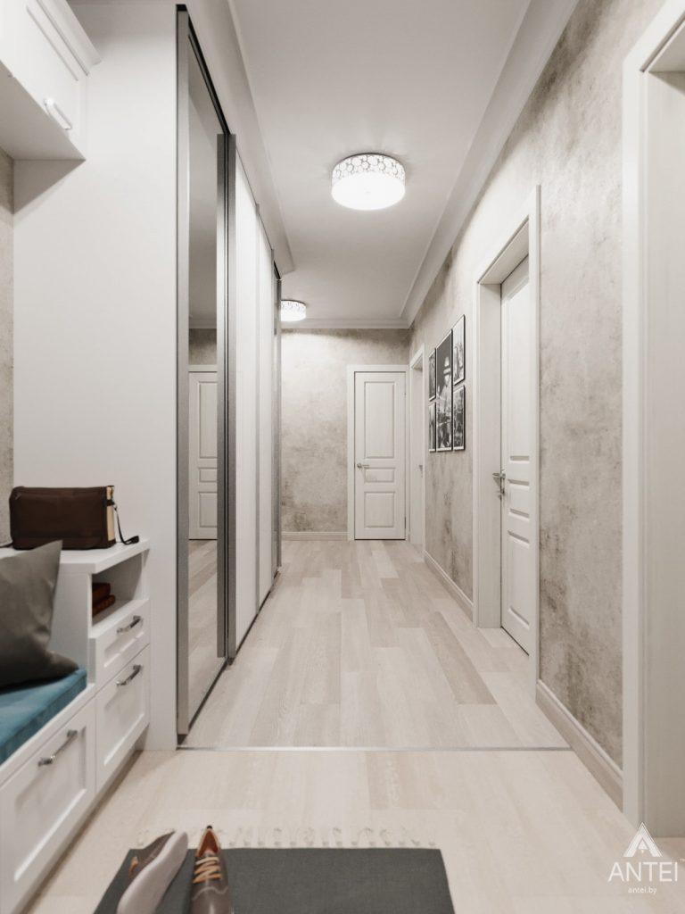 Дизайн интерьера квартиры в Гомеле, Иногородняя 8-я - прихожая фото №3