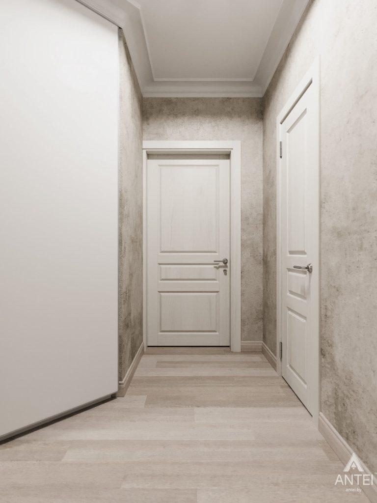 Дизайн интерьера квартиры в Гомеле, Иногородняя 8-я - прихожая фото №1