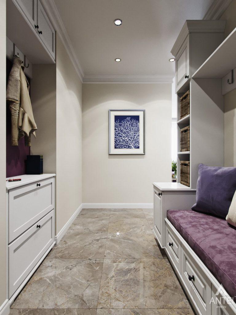 Дизайн интерьера квартиры в Гомеле - прихожая фото №2