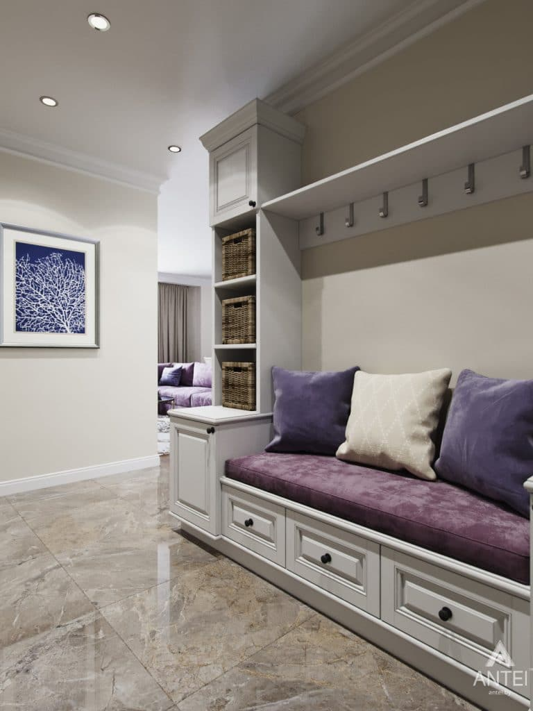 Дизайн интерьера квартиры в Гомеле - прихожая фото №3