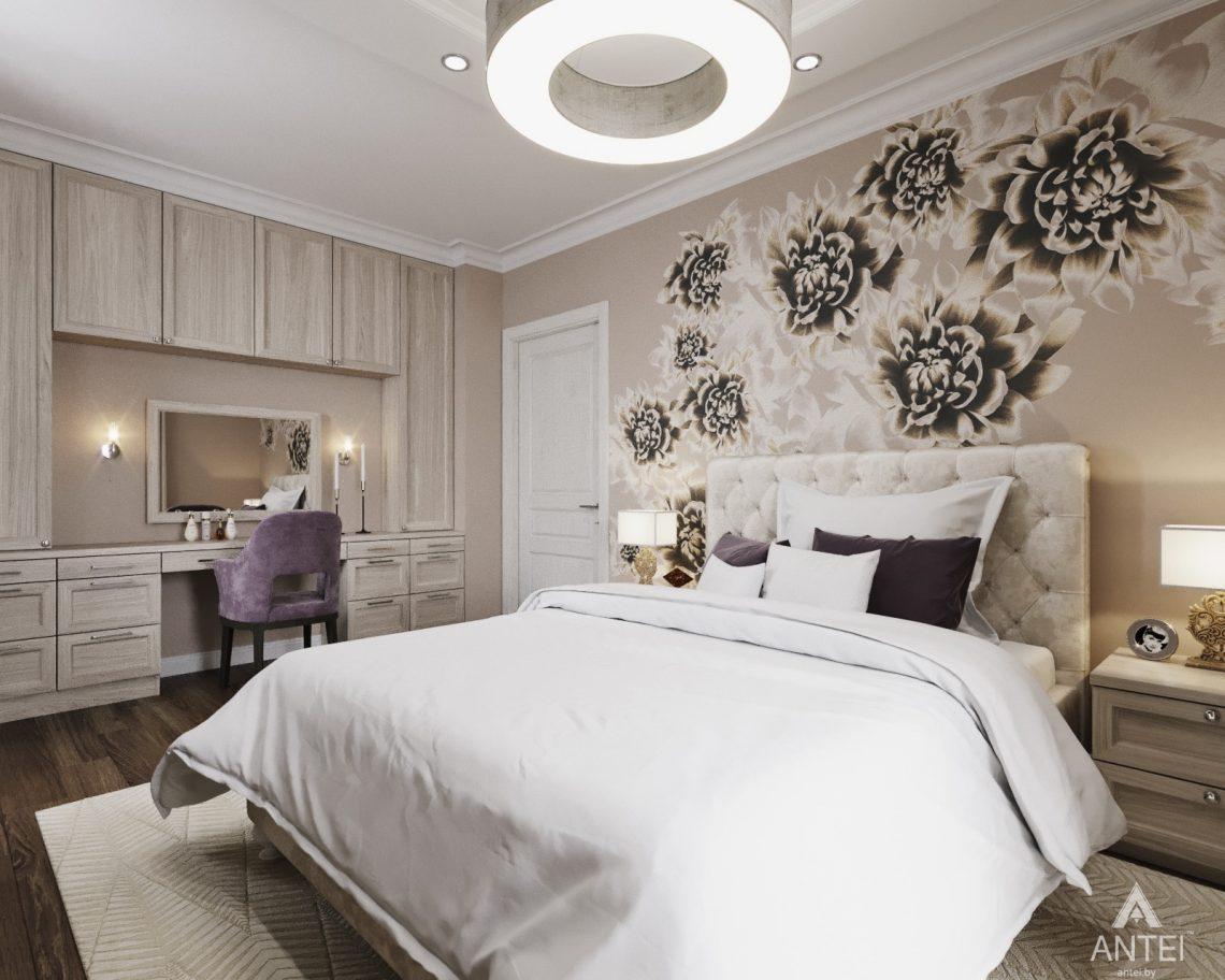 Дизайн интерьера квартиры в Гомеле - спальня фото №1
