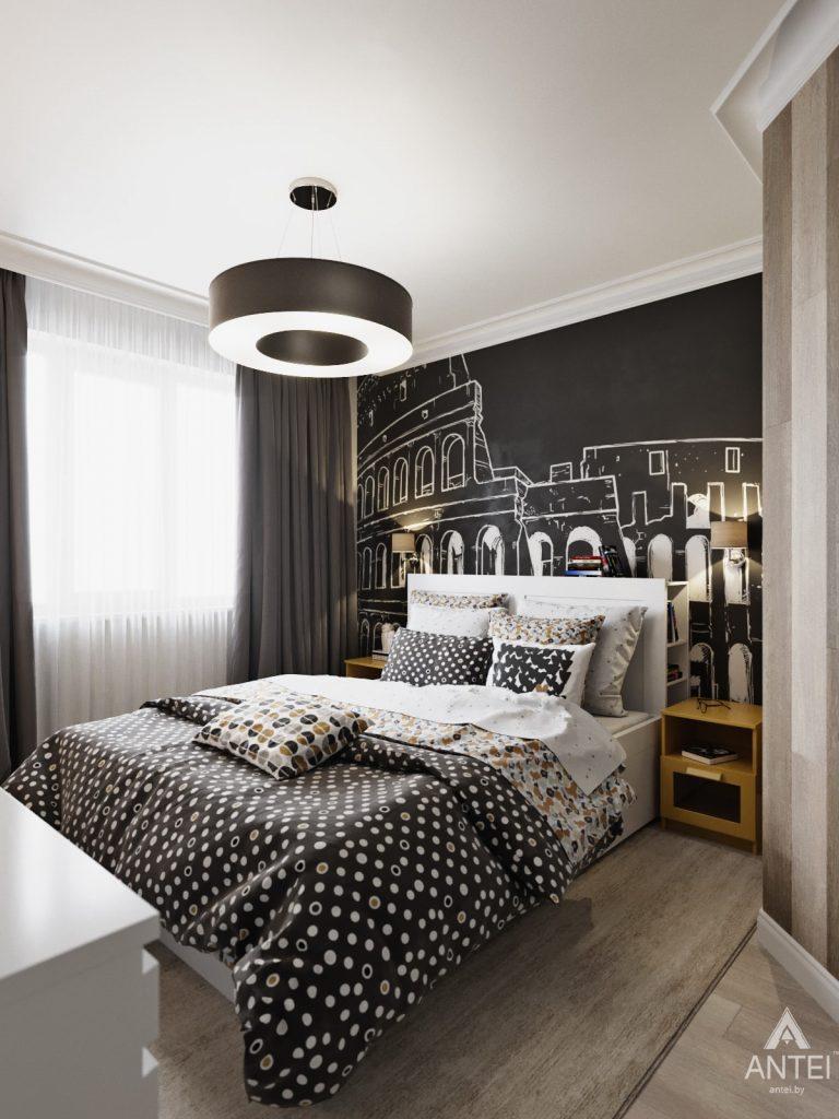 Дизайн интерьера квартиры в Гомеле, Иногородняя 8-я - спальня фото №4