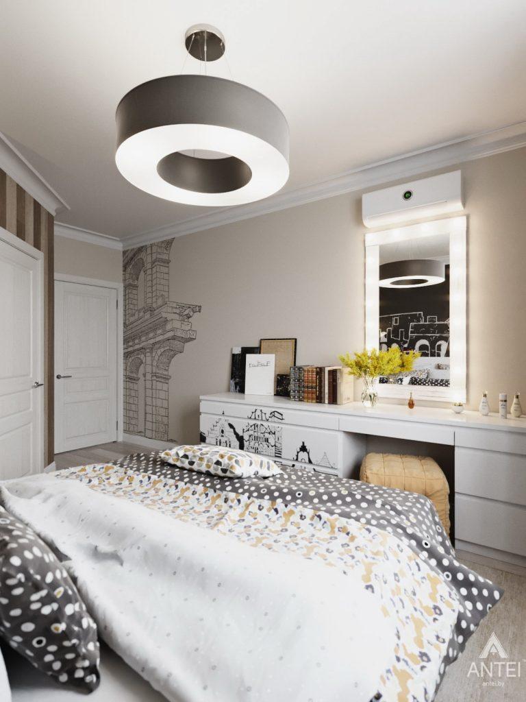 Дизайн интерьера квартиры в Гомеле, Иногородняя 8-я - спальня фото №3