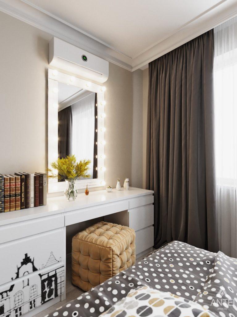 Дизайн интерьера квартиры в Гомеле, Иногородняя 8-я - спальня фото №2