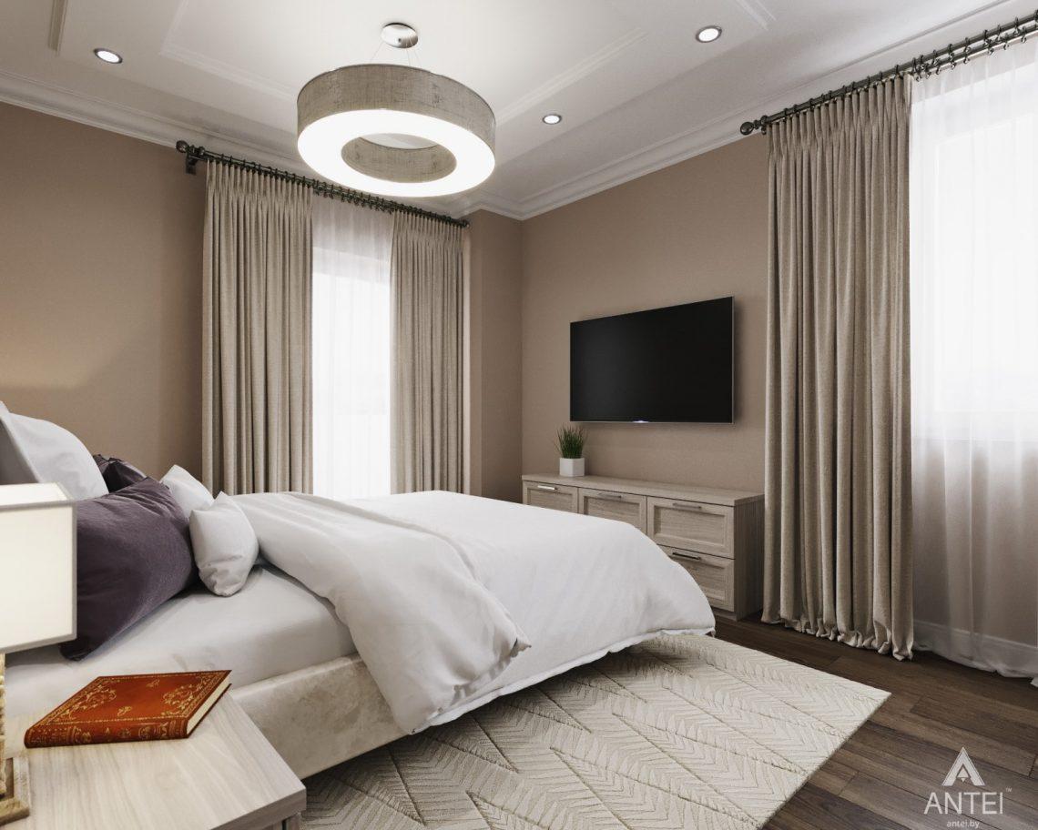Дизайн интерьера квартиры в Гомеле - спальня фото №4