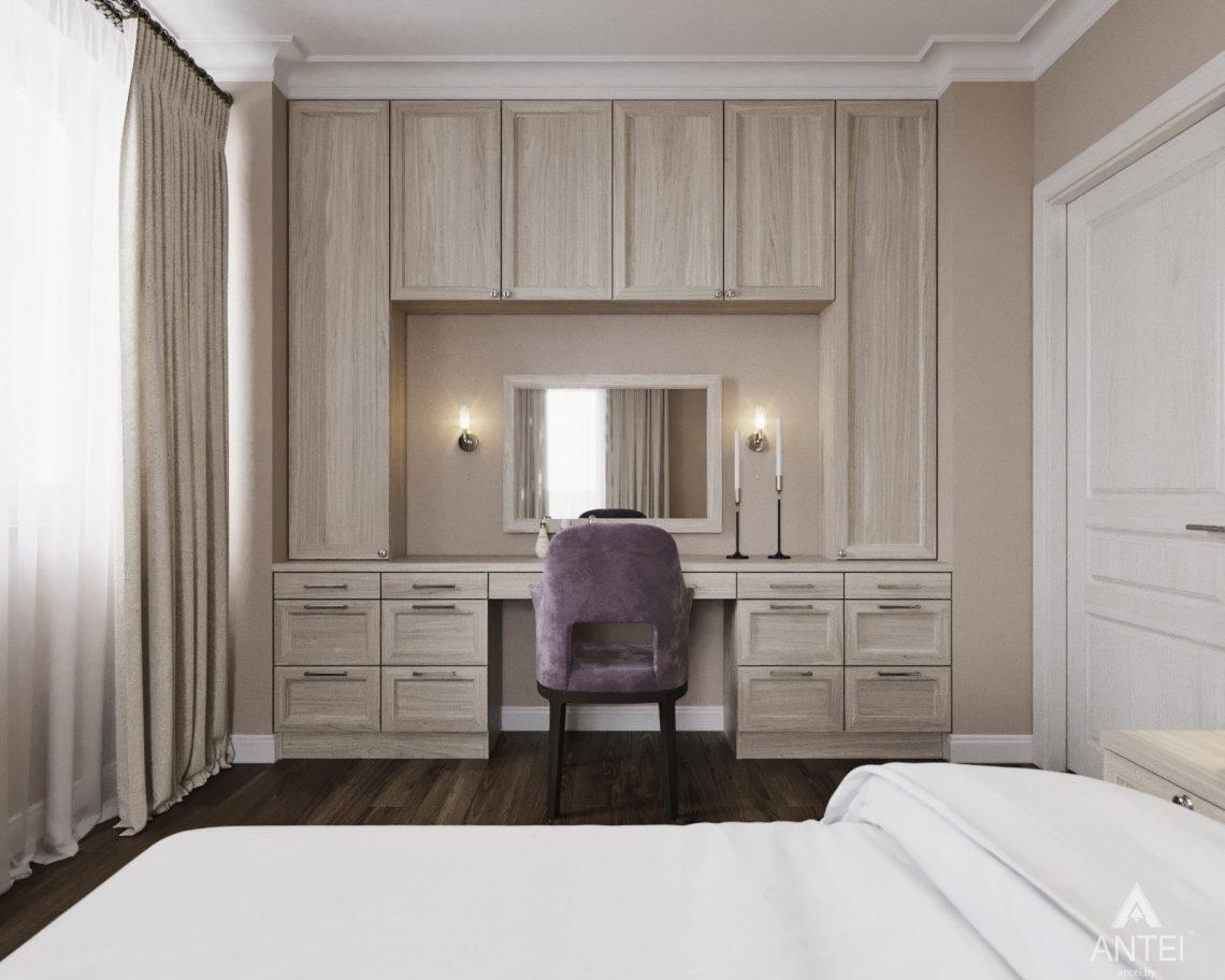 Дизайн интерьера квартиры в Гомеле - спальня фото №5