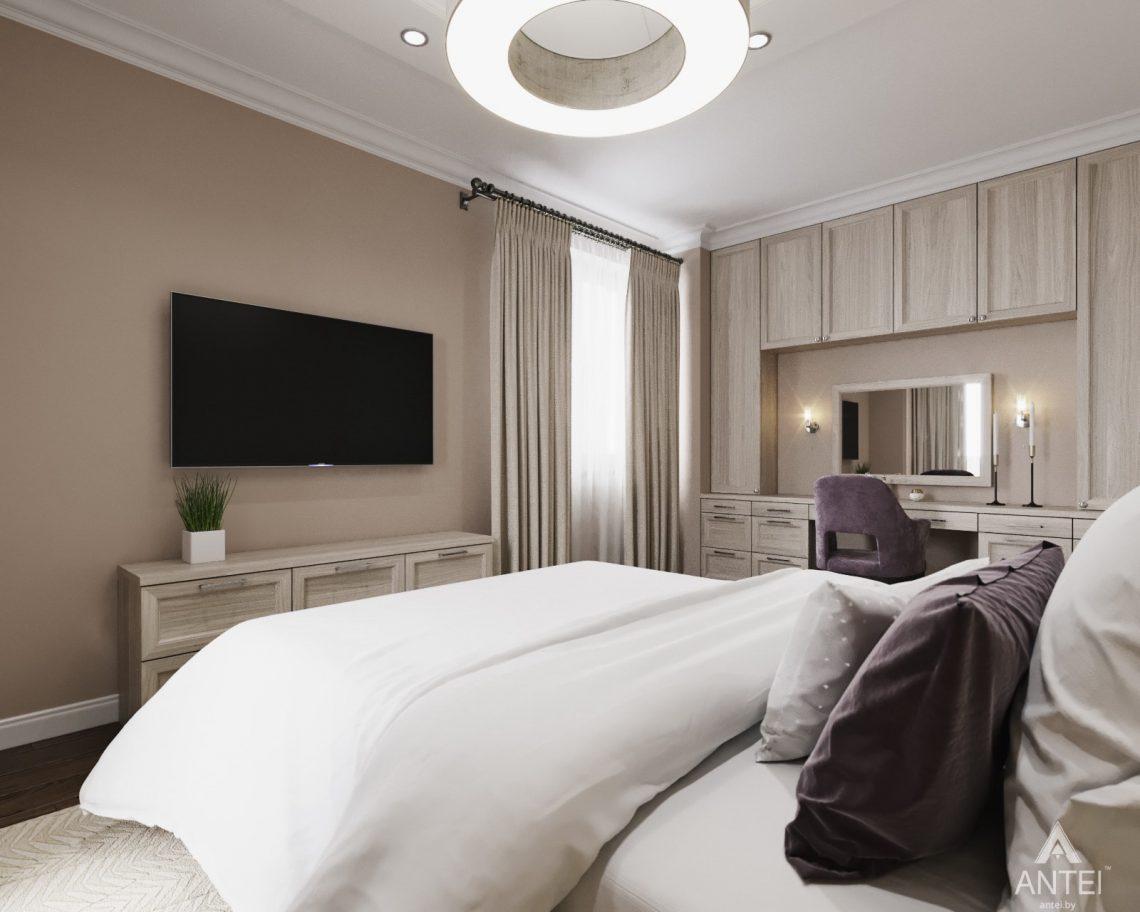Дизайн интерьера квартиры в Гомеле - спальня фото №3