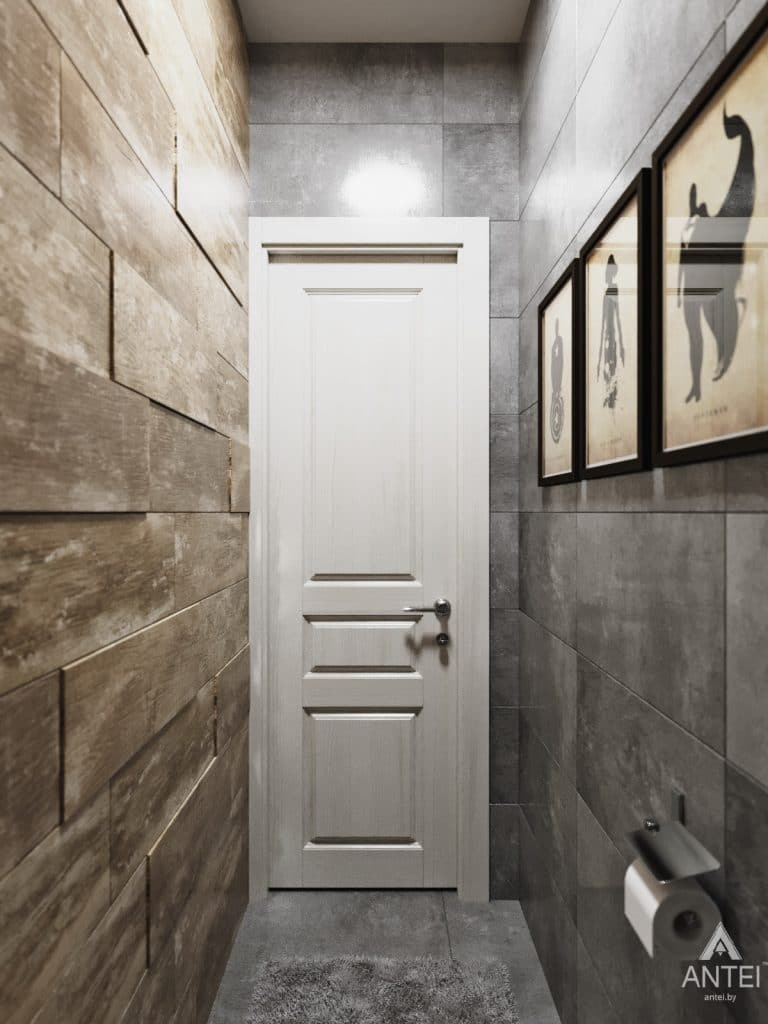 Дизайн интерьера квартиры в Гомеле, Иногородняя 8-я - туалет фото №2