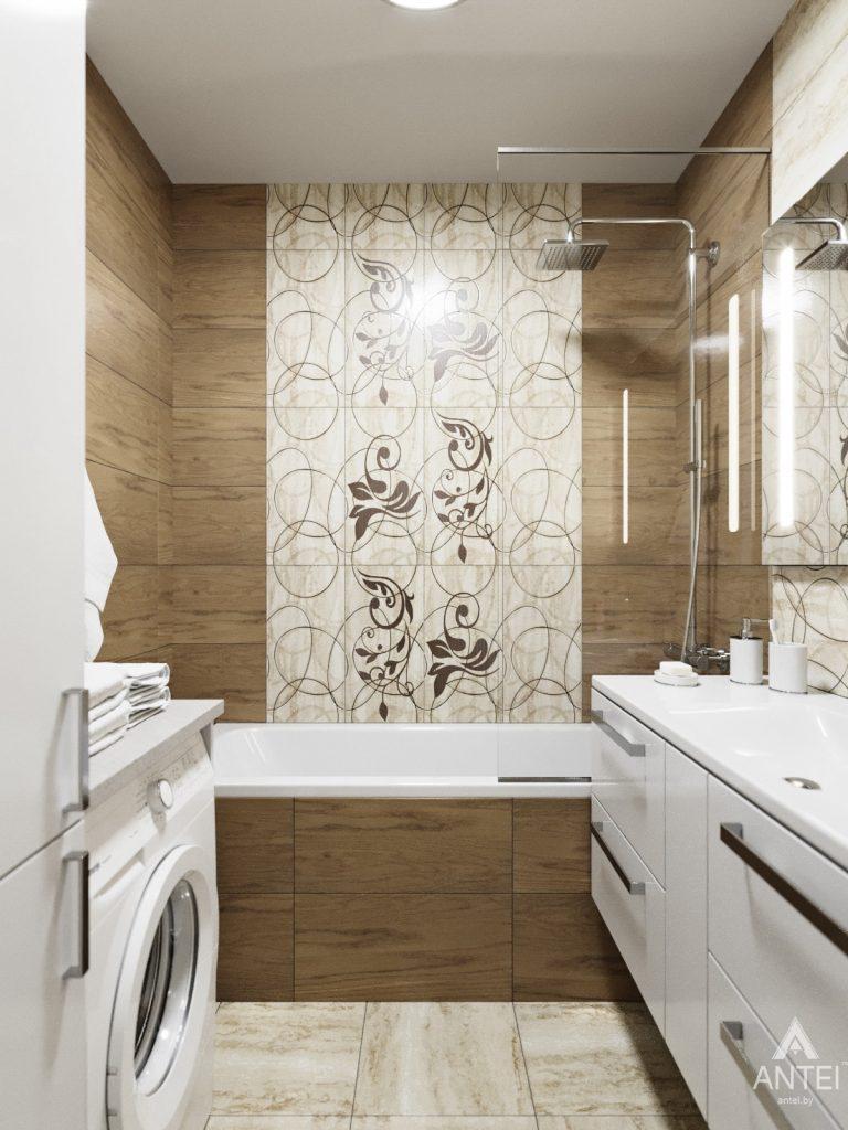 Дизайн интерьера квартиры в Гомеле, Иногородняя 8-я - ванная фото №2