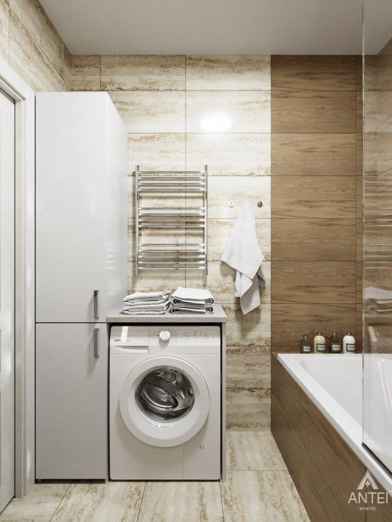 Дизайн интерьера квартиры в Гомеле, Иногородняя 8-я - ванная фото №3