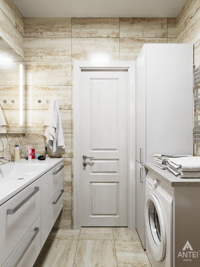 Дизайн интерьера квартиры в Гомеле, Иногородняя 8-я - ванная фото №4