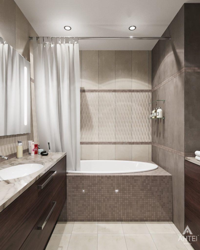 Дизайн интерьера квартиры в Гомеле - ванная фото №2