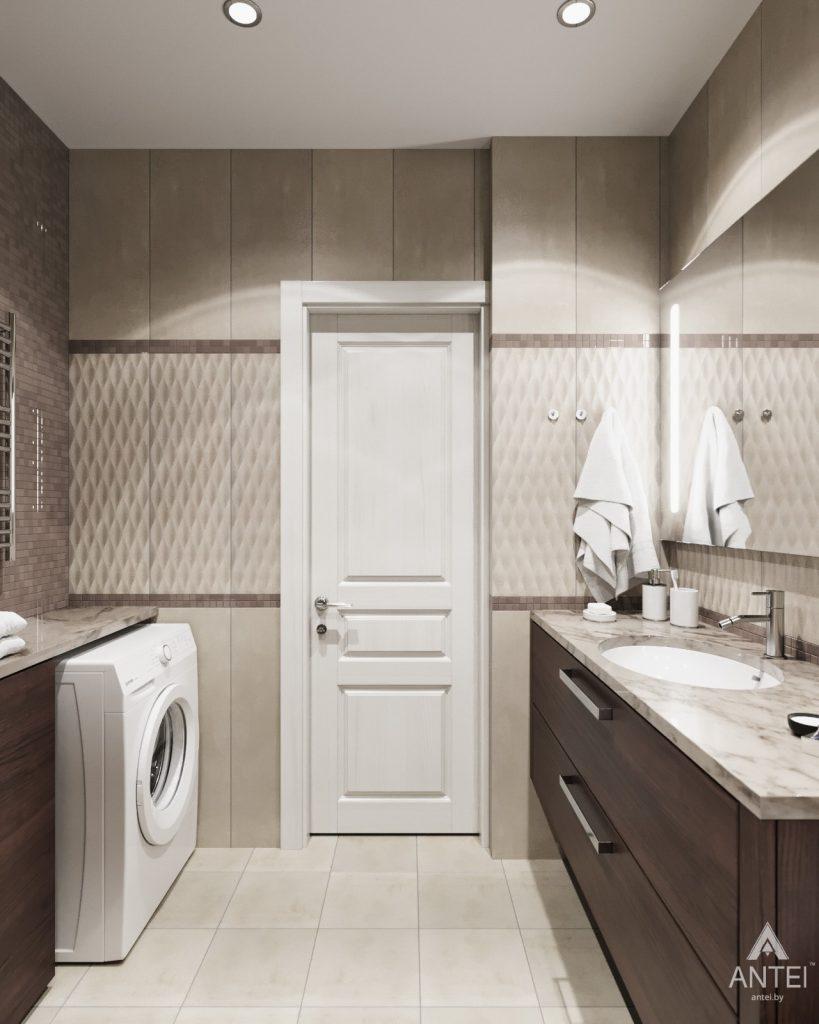 Дизайн интерьера квартиры в Гомеле - ванная фото №3