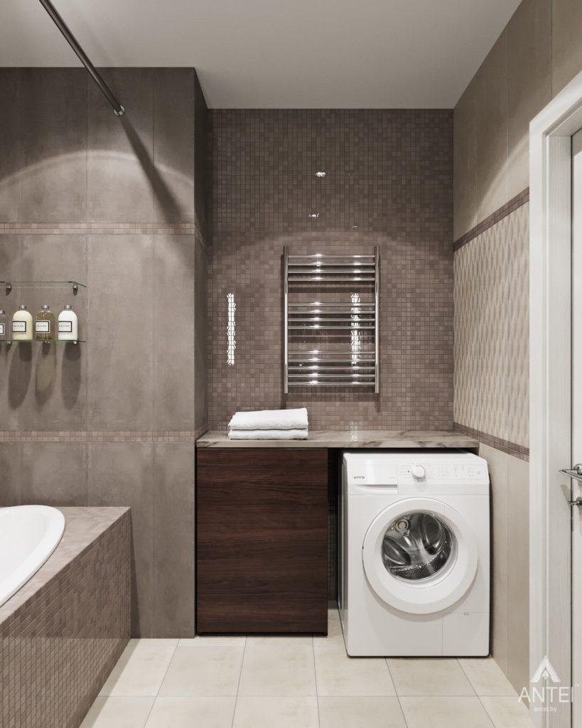 Дизайн интерьера квартиры в Гомеле - ванная фото №4