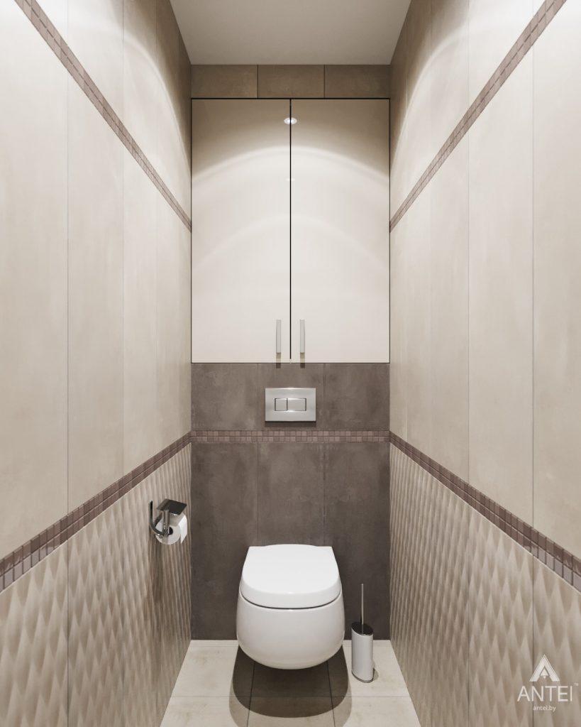 Дизайн интерьера квартиры в Гомеле - туалет фото №1