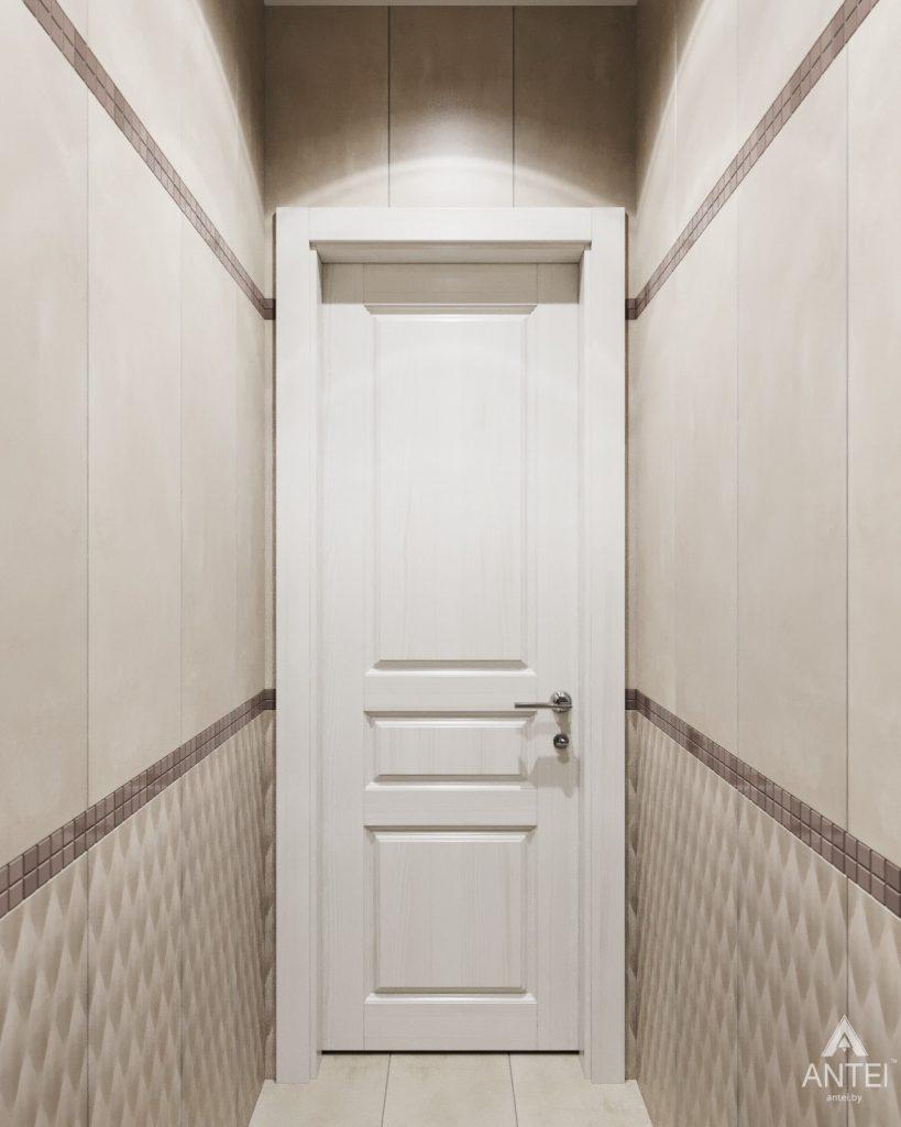 Дизайн интерьера квартиры в Гомеле - туалет фото №2