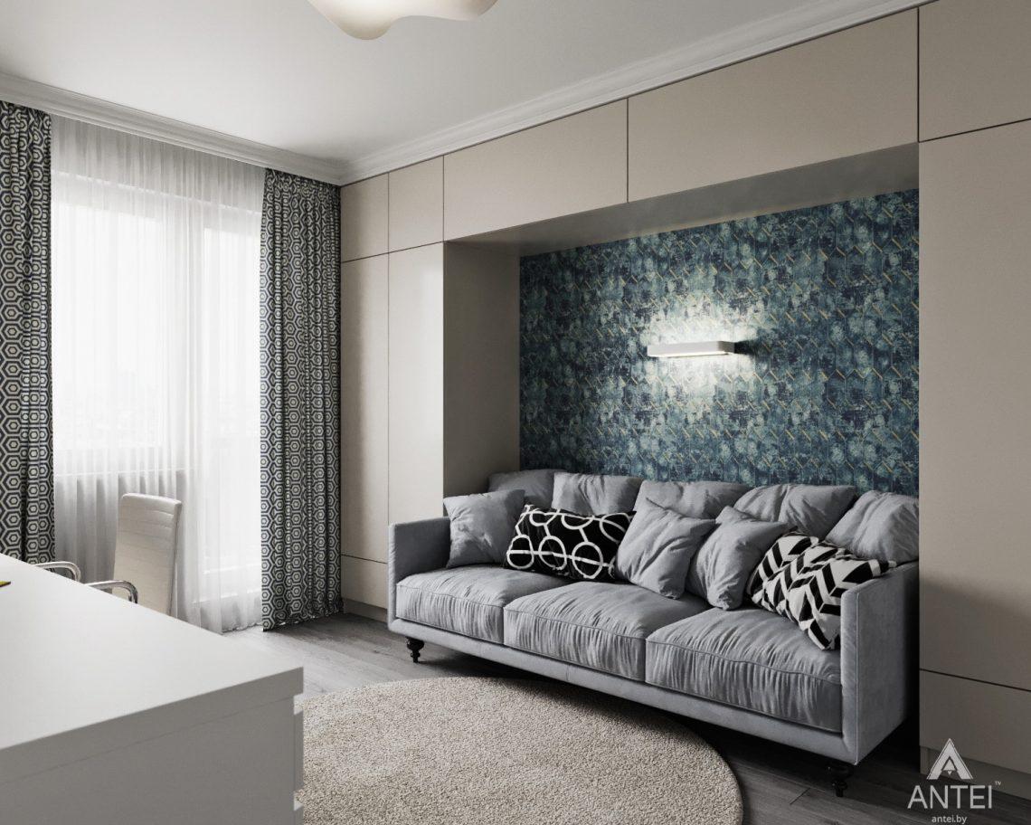 Дизайн интерьера квартиры в Гомеле, ул. Жемчужная - детская комната фото №2