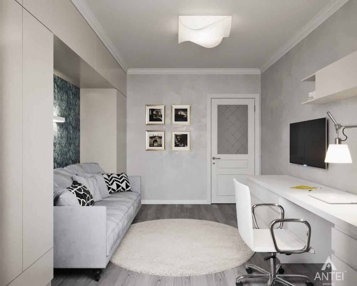 Дизайн интерьера квартиры в Гомеле, ул. Жемчужная - детская комната фото №1