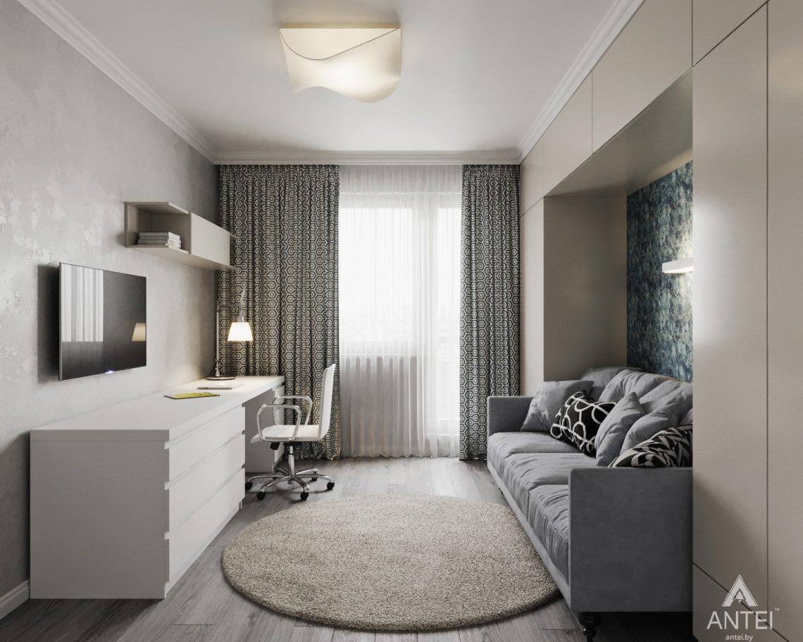 Дизайн интерьера квартиры в Гомеле, ул. Жемчужная - детская комната фото №3