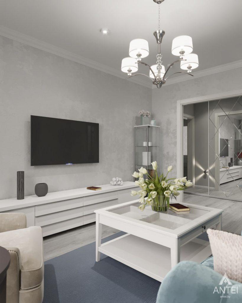 Дизайн интерьера квартиры в Гомеле, ул. Жемчужная - гостиная фото №4