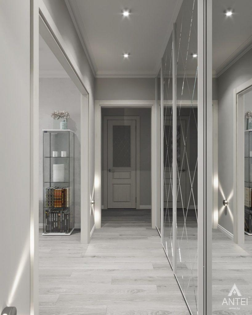 Дизайн интерьера квартиры в Гомеле, ул. Жемчужная - коридор фото №2