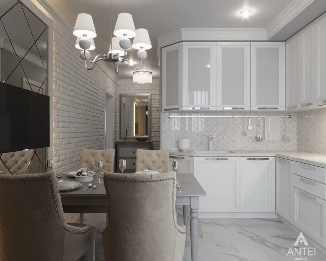 Дизайн интерьера квартиры в Гомеле, ул. Жемчужная - кухня фото №1