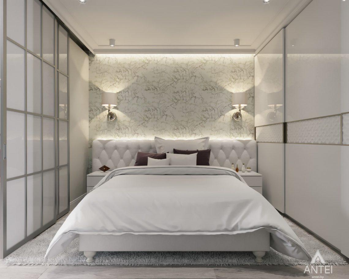 Дизайн интерьера однокомнатной квартиры в Минске - Спальня