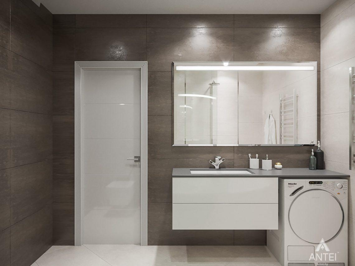 Дизайн интерьера однокомнатной квартиры в Минске - Ванная №1
