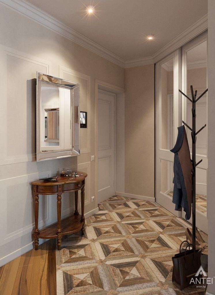 Дизайн интерьера квартиры в Минске, р-н Лебяжий - прихожая фото №3