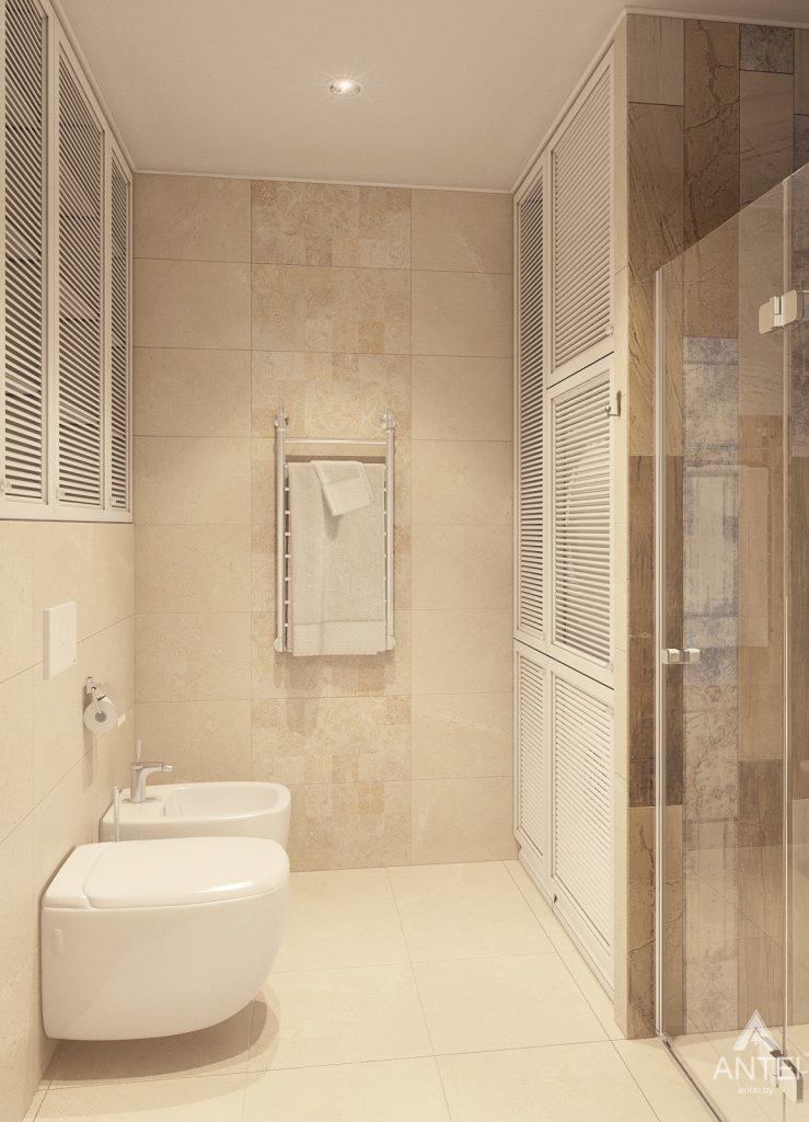 Дизайн интерьера квартиры в Минске, р-н Лебяжий - санузел фото №2