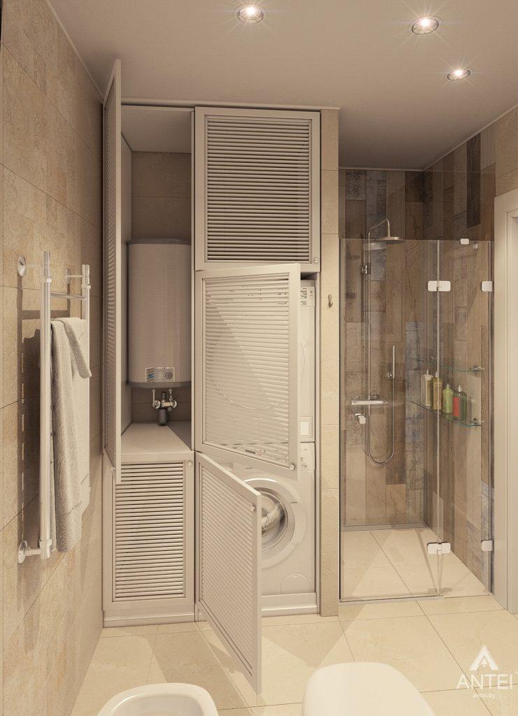 Дизайн интерьера квартиры в Минске, р-н Лебяжий - санузел фото №4