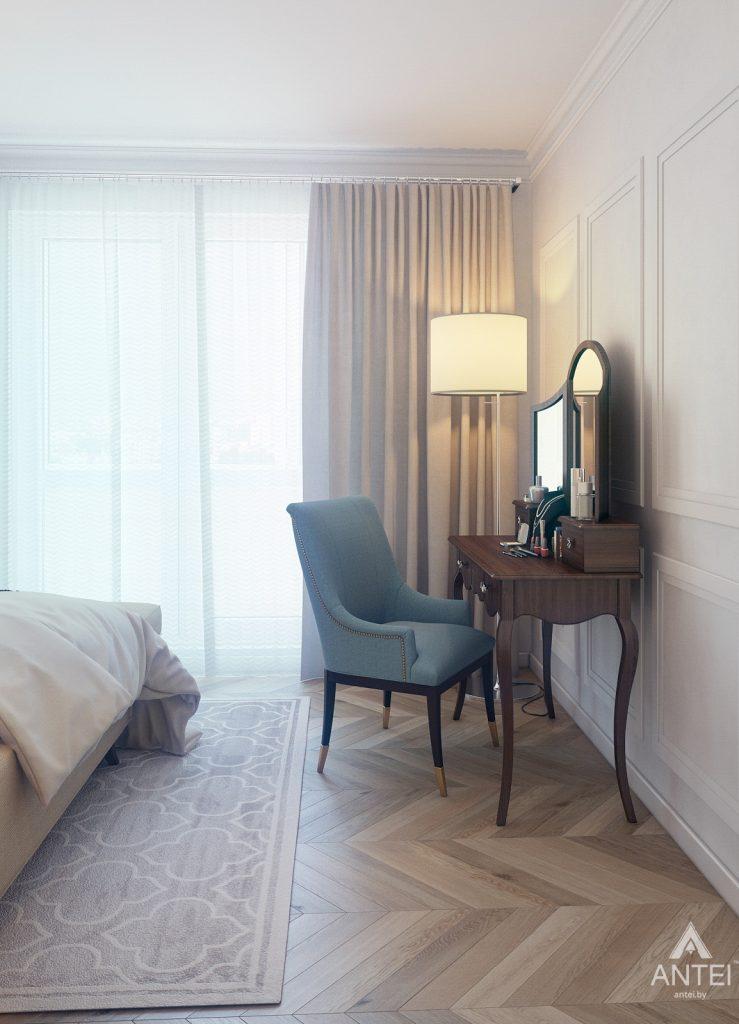 Дизайн интерьера квартиры в Минске, р-н Лебяжий - спальня фото №4