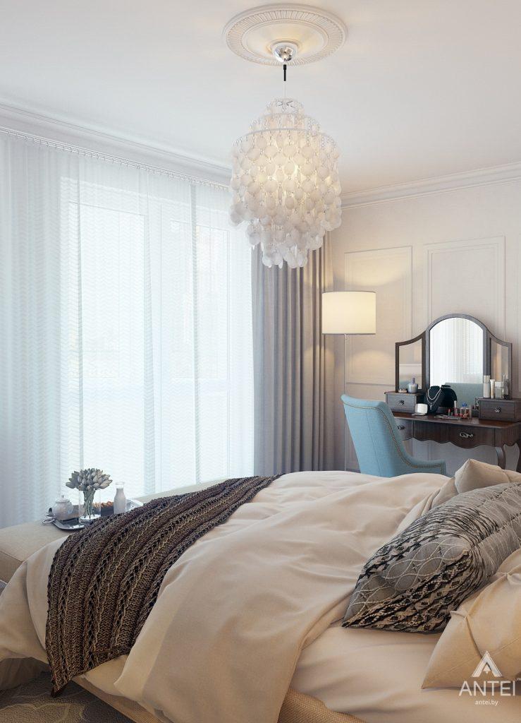 Дизайн интерьера квартиры в Минске, р-н Лебяжий - спальня фото №5