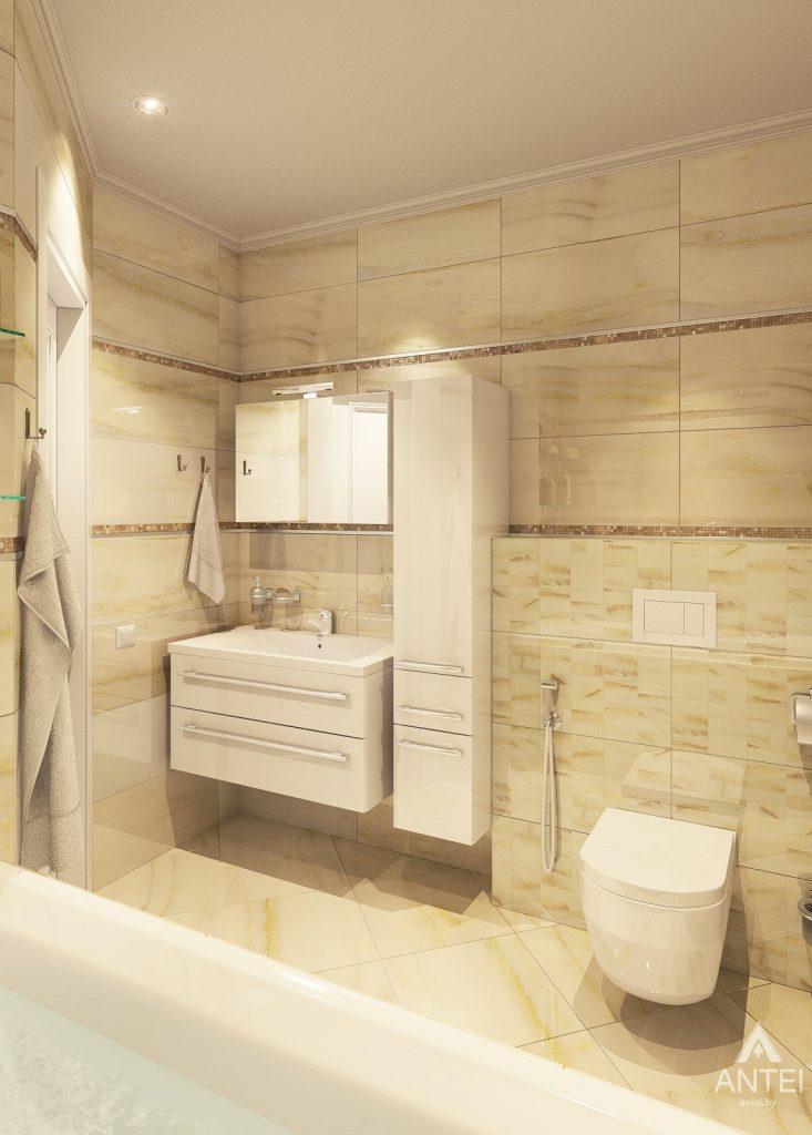 Дизайн интерьера квартиры в Минске, р-н Лебяжий - ванная фото №3