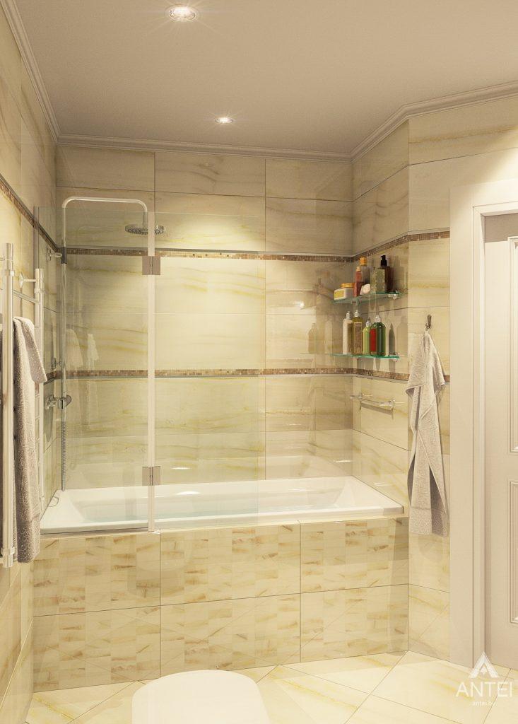 Дизайн интерьера квартиры в Минске, р-н Лебяжий - ванная фото №4