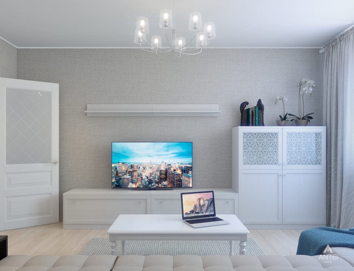 Дизайн интерьера квартиры в Гомеле, ул. Барыкина - гостиная фото №3
