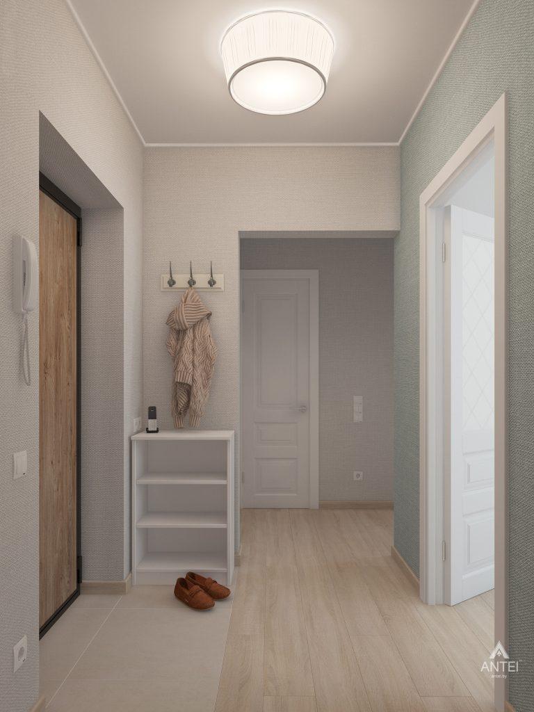 Дизайн интерьера квартиры в Гомеле, ул. Барыкина - коридор фото №1