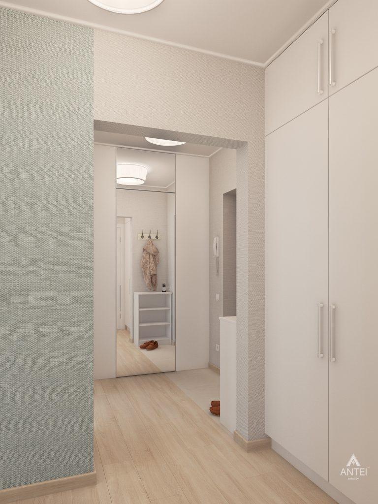 Дизайн интерьера квартиры в Гомеле, ул. Барыкина - коридор фото №2