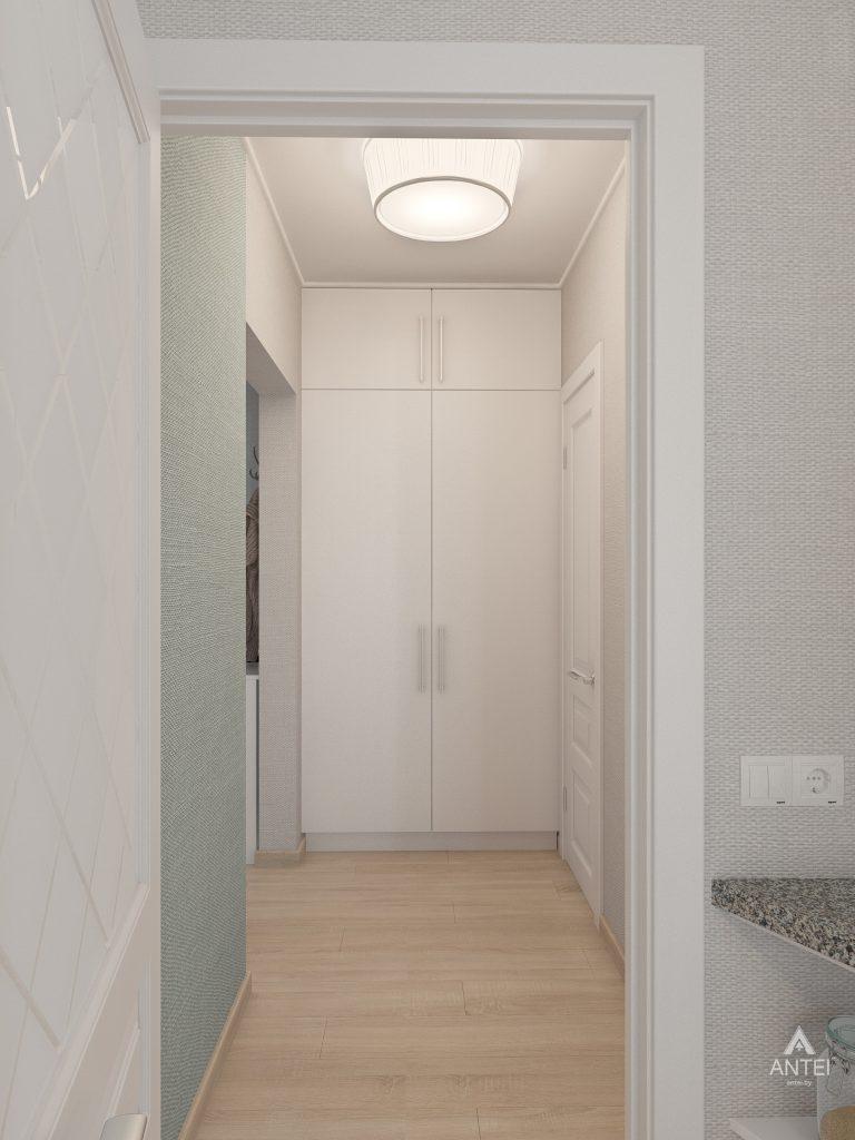 Дизайн интерьера квартиры в Гомеле, ул. Барыкина - коридор фото №4