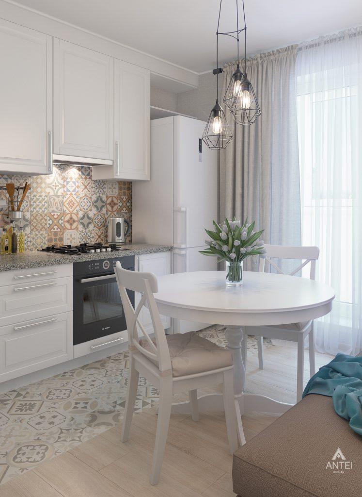 Дизайн интерьера квартиры в Гомеле, ул. Барыкина - кухня фото №1