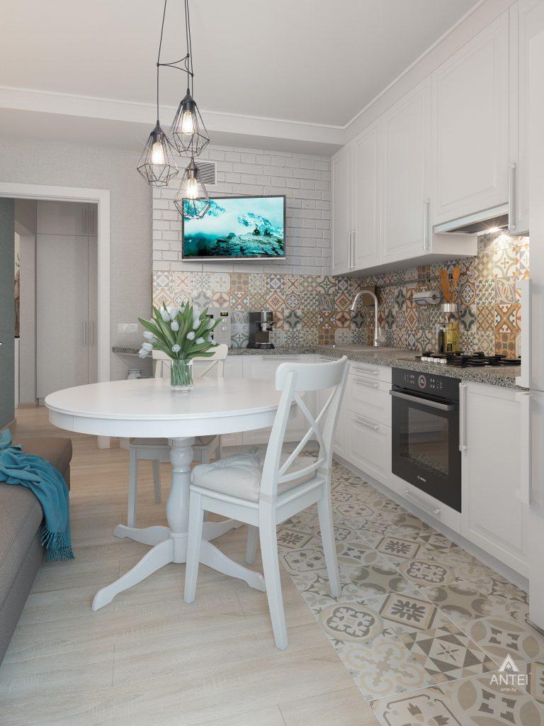 Дизайн интерьера квартиры в Гомеле, ул. Барыкина - кухня фото №2