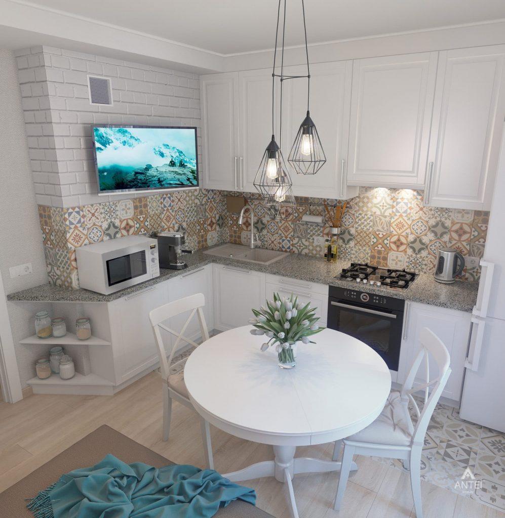 Дизайн интерьера квартиры в Гомеле, ул. Барыкина - кухня фото №5